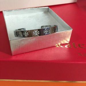 Tory Burch cuff bracelet silver